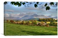 Church in the Mournes, Canvas Print