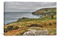 Murlough Bay, County Antrim, Canvas Print