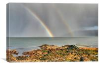 Shower over Garron Point, Canvas Print