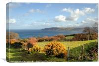 Spring on the Antrim Coast, Canvas Print