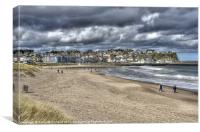 Stormy Ballycastle, Canvas Print
