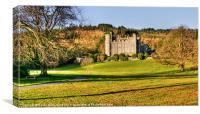 Castlewellan Castle, Canvas Print