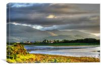 Mourne Shadows, Canvas Print