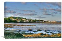 Dundrum Bay at low tide, Canvas Print