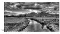 Moody Mournes, Canvas Print