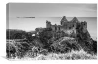 Impregnable Dunluce, Canvas Print