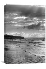 Sprinkles of Sunlight at Portstewart, Canvas Print
