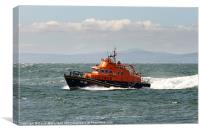 Portrush Lifeboat, Canvas Print