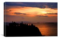 Goodnight Dunluce, Canvas Print
