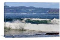 Rathlin crossing, Canvas Print