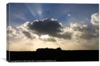 Light over Dunluce, Canvas Print