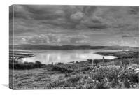 Donegal reflections, Canvas Print