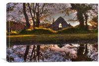 Friary of Reflection, Canvas Print