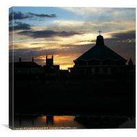 Evensong Sunset, Canvas Print