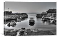 Evening at Ballintoy Harbour, Canvas Print
