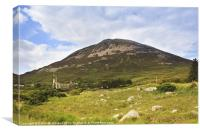 Errigal mountain, Canvas Print
