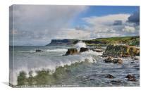 Fair Head, Ballycastle, Canvas Print