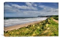 Windy Ballycastle, Canvas Print
