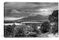 The Mountains of Mourne, Canvas Print
