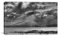 Mourne Sunshine and showers, Canvas Print