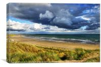Tyrella Beach, Canvas Print