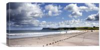 The great wall of Ballycastle, Canvas Print