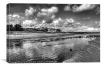 Margy River, Ballycastle, Canvas Print