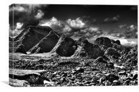 Ballintoy Rocks, Canvas Print