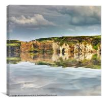 Dunluce Castle reflections, Canvas Print