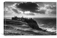 Dunluce Shadows, Canvas Print