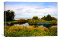 Lough Neagh's Blue Lagoon, Canvas Print