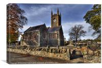 Maralin Church, Canvas Print
