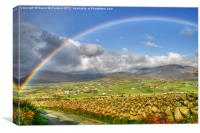 Mourne Rainbow Country, Canvas Print