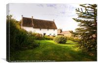 Idyllic Irish Village, Canvas Print