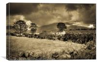Timeless Mournes, Canvas Print
