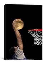 Moonshot Phone Case, Canvas Print