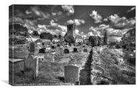Dromore Cathedral, County Down, Canvas Print