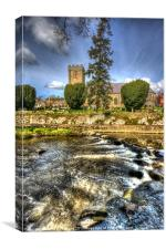 Dromore Cathedral on the Lagan, Canvas Print