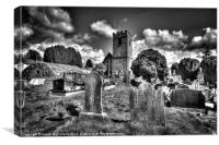 Buried at Dromore Cathedral, Canvas Print