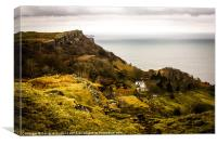 Splendid Isolation at Murlough Bay, Canvas Print