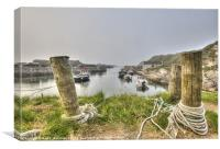 Misty Ballintoy, Canvas Print