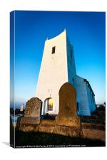Evensong at Ballintoy Church, Canvas Print