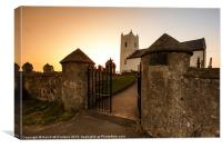 Ballintoy Parish Church, Canvas Print