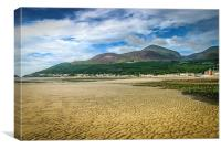 Slieve Donard and the Mournes, Canvas Print