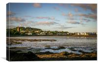 Dundrum Village sunset, Canvas Print