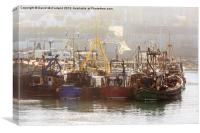 Ardglass Fishing Fleet (2), Canvas Print