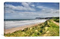 Blustery Ballycastle, Canvas Print