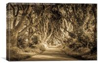 Mysterious and magical, Canvas Print