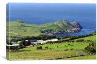 Torr Head in County Antrim, Canvas Print
