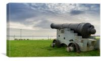 Portsmouth Cannon, Canvas Print